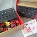 Spielzeugautos aus Holz zum Bauen